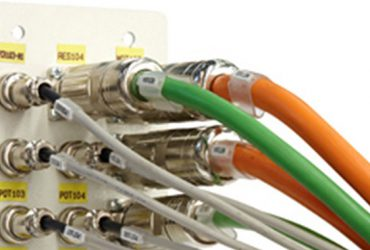 On-board machine wiring harnesses